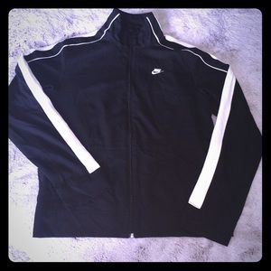 Nike Sz M Track Jacket NWOT ZIP up no Hood MINT